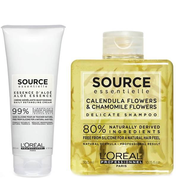 L'Oréal Professionnel Source Essentielle Sensitive Scalp Shampoo and Hair Cream Duo