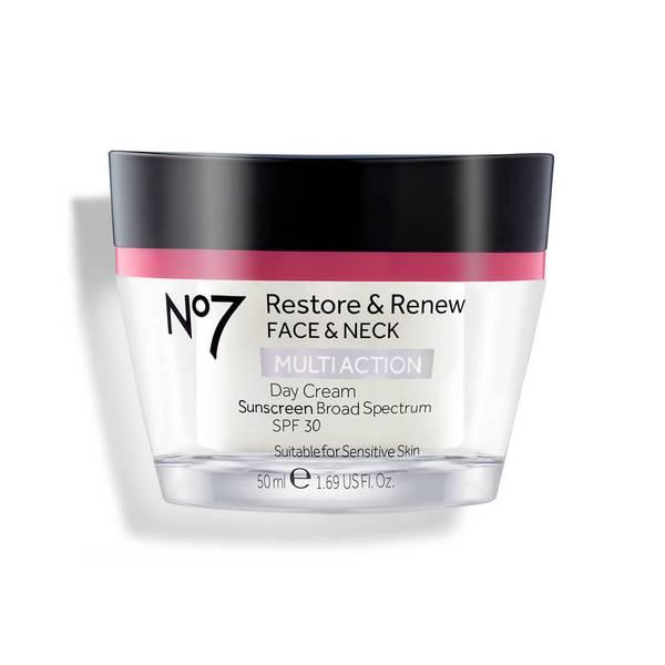 Restore & Renew Multi Action Face & Neck Day Cream SPF 30