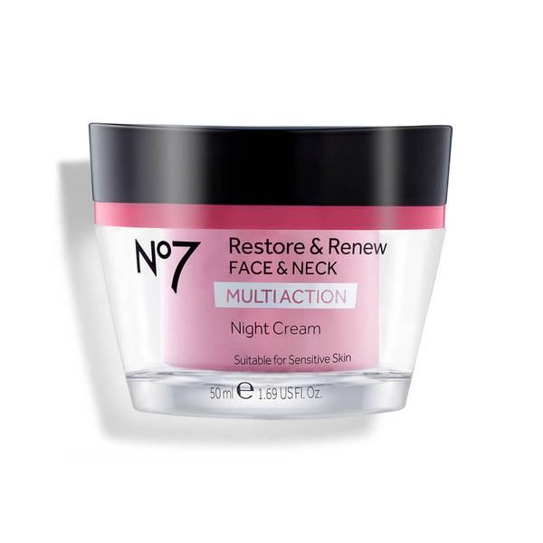 Restore & Renew Multi Action Face & Neck Night Cream