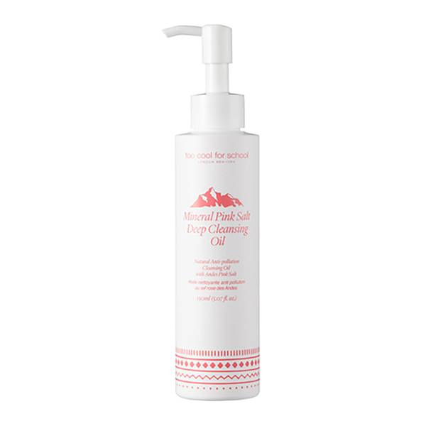 Too Cool For School Mineral Pink Salt Deep Cleansing Oil 150ml