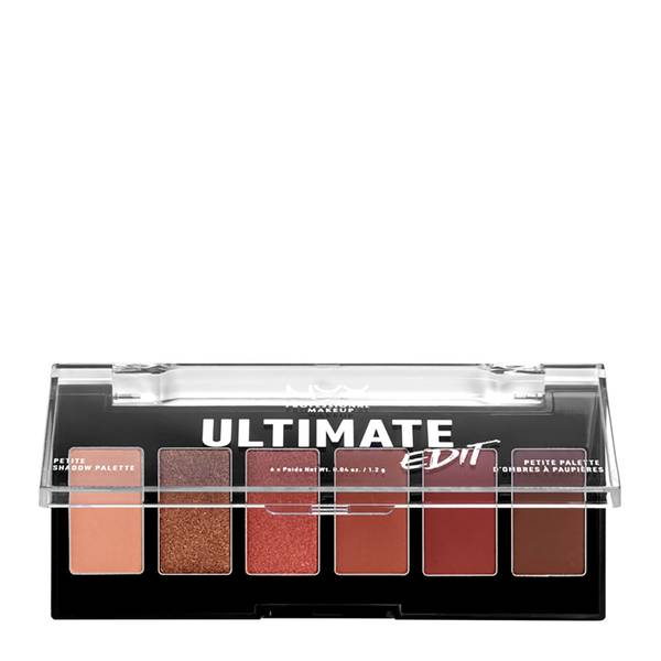 NYX Professional Makeup Ultimate Edit Petite Eye Shadow Palette - Warm Neutrals