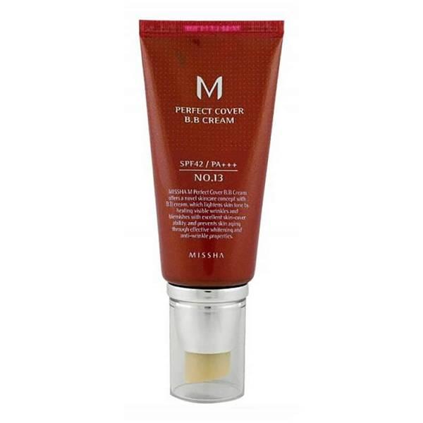 MISSHA M Perfect Cover BB Cream SPF42/PA+++ - No.13/Bright Beige 50ml
