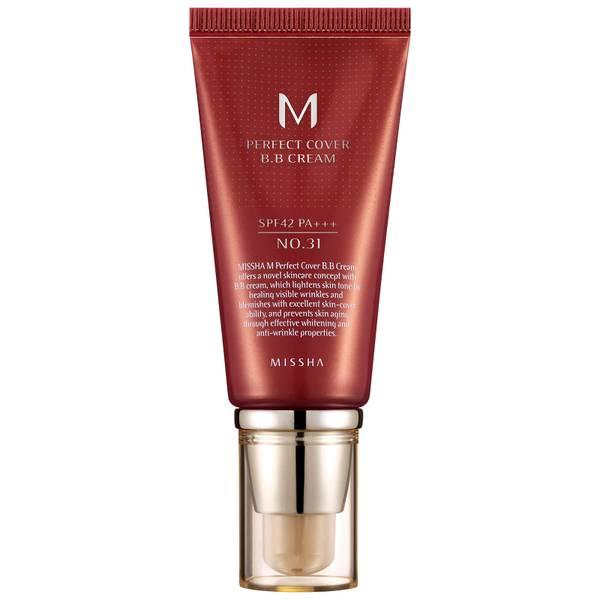 MISSHA M Perfect Cover BB Cream SPF42/PA+++ - No.31/Golden Beige 50ml