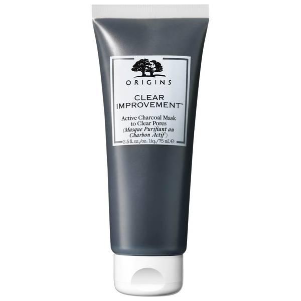 Mascarilla Improvement de carbón activo para limpiar los poros de Origins 75 ml