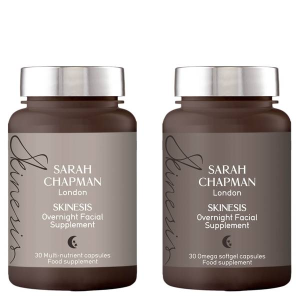 Sarah Chapman Skinesis Overnight Facial Supplement Duo (2 x 30 Capsules)