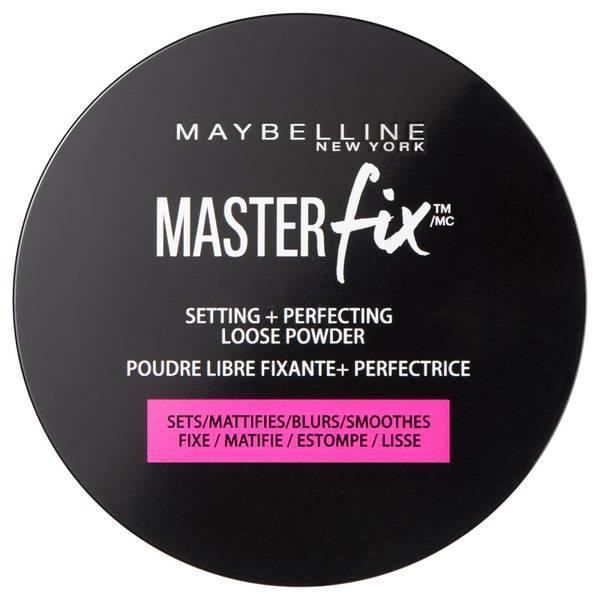 Polvos sueltos fijadores y transparentes Master Fix de Maybelline 6 g