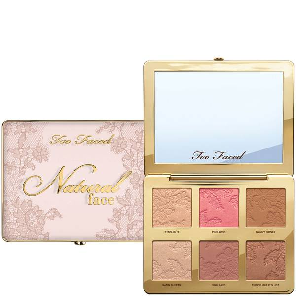 Too Faced Natural Face Palette 24g