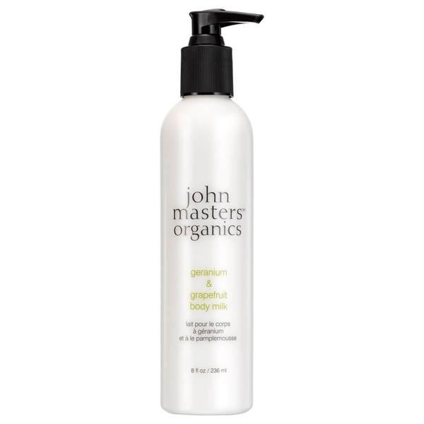 John Masters Organics Body Milk with Geranium & Grapefruit 236ml