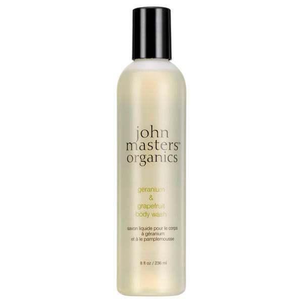 John Masters Organics Body Wash with Geranium & Grapefruit 236ml