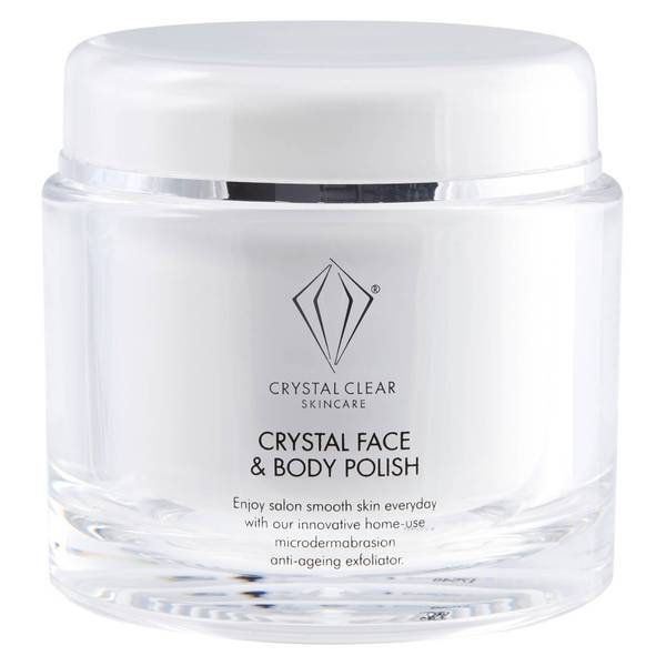 Crystal Clear Crystal Face and Body Polish 150ml
