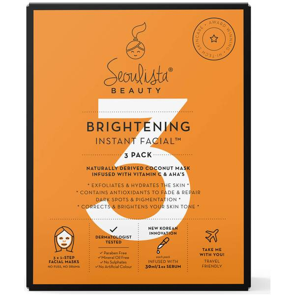 Seoulista Beauty Brightening Multi Pack 3's