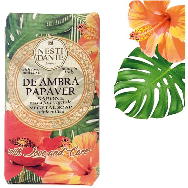 Nesti Dante De Ambra Papaver No. 9 Soap 250g