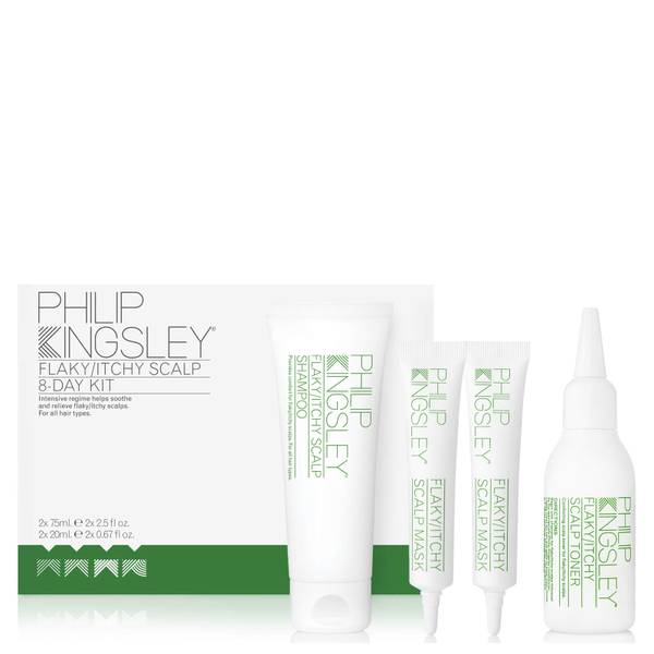 Philip Kingsley Flaky/Itchy Scalp 8-Day Kit