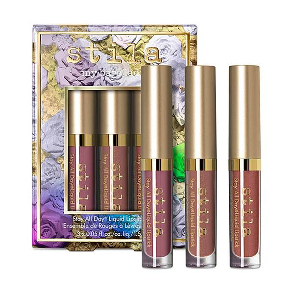Stila My Bare Lady Stay All Day Liquid Lipstick Set