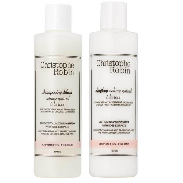 Christophe Robin Delicate Volumizing Shampoo and Volumizing Conditioner 250ml