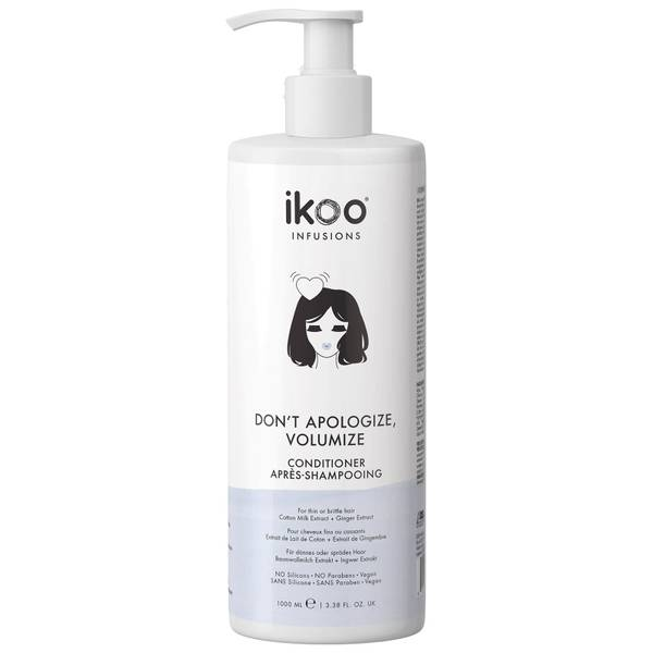 ikoo Conditioner - Don't Apologize, Volumize 1000ml