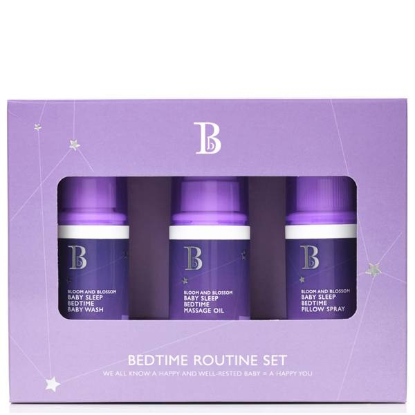 Bloom and Blossom Baby Sleep Bedtime Routine Set