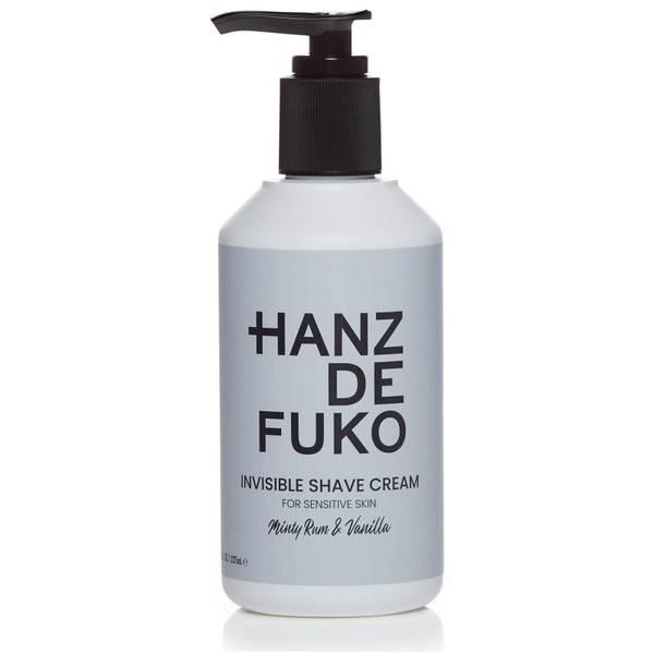 Hanz de Fuko Invisible Shave Cream 237ml