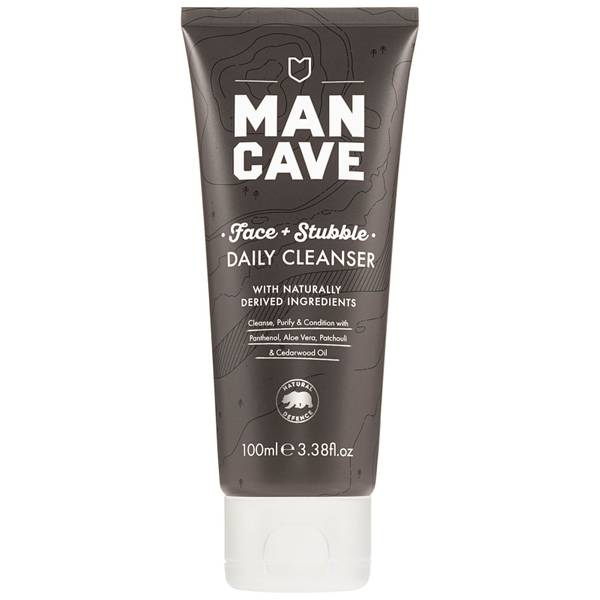 ManCave Face + Stubble Daily Cleanser