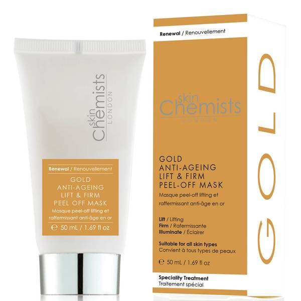 skinChemists Gold Supreme Anti-Ageing Peel-Off Face Mask 50ml