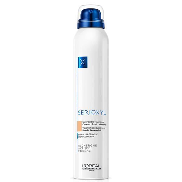 L'Oréal Professionnel Serioxyl Volumising Hair Fibre Spray - Blonde 250ml