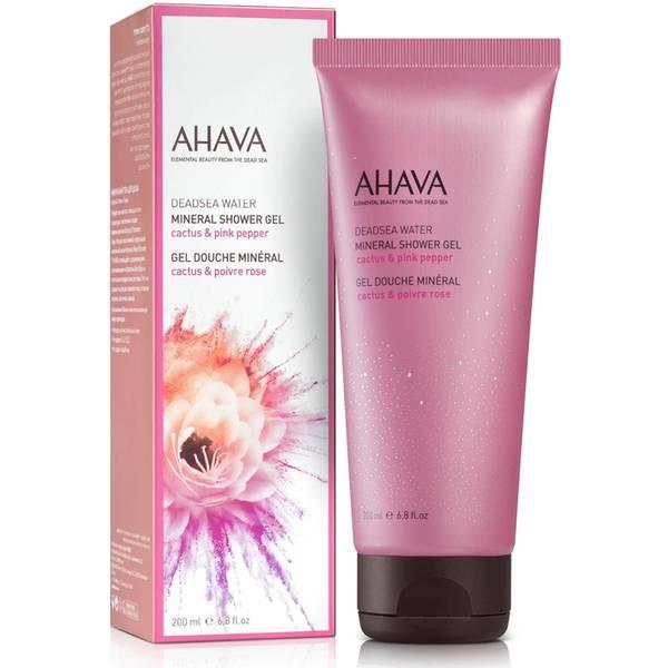 AHAVA Mineral Shower Gel - Cactus Pink Pepper 200ml