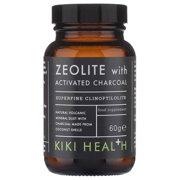 KIKI Health Zeolite with Activated Charcoal Powder 120g