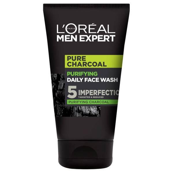 L'Oréal Paris Men Expert Pure Charcoal Purifying Daily Face Wash 100ml