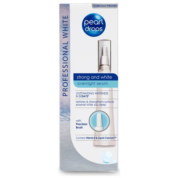 Pearl Drops Strong and White Overnight Serum 15ml