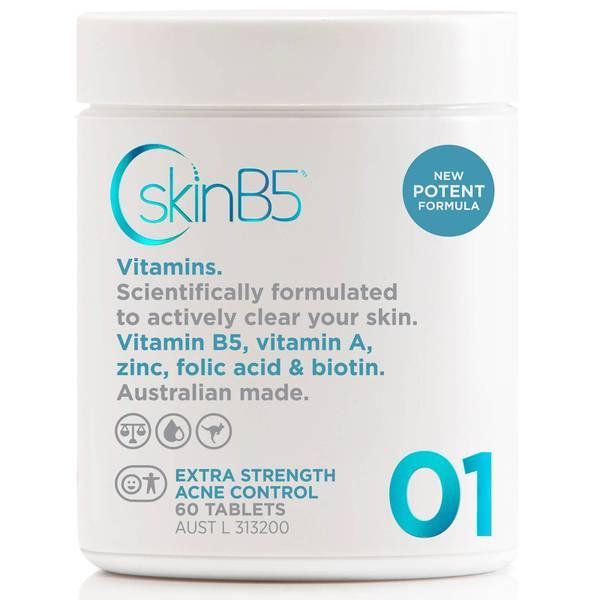 SkinB5 Extra Strength Acne Control Tablets x 60