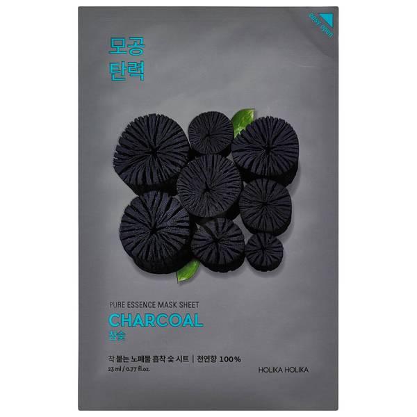 Holika Holika Pure Essence Mask Sheet - Charcoal