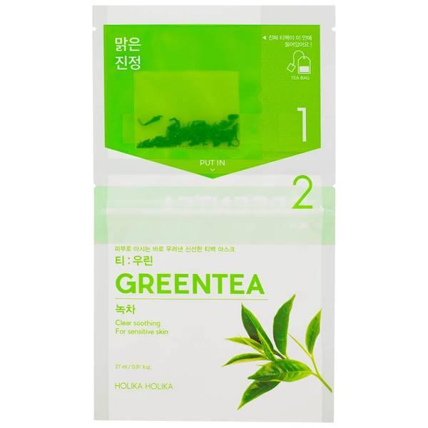 Holika Holika Instantly Brewing Tea Bag Mask - Green Tea