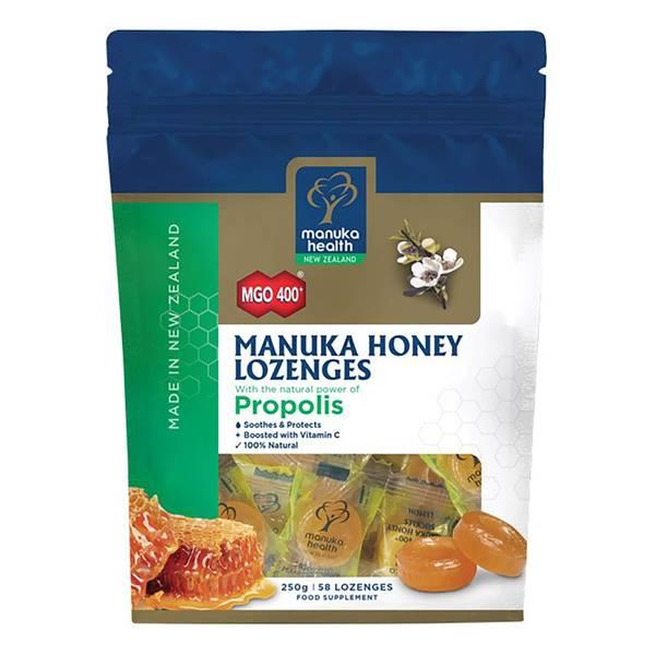 MGO 400+ Manuka Honey Lozenges with Propolis - 58 Lozenges
