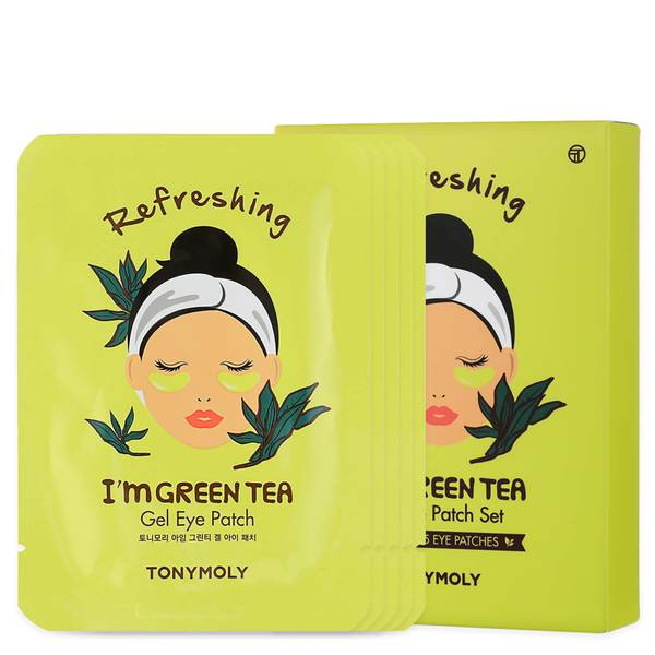 TONYMOLY I'm Green Tea Eye Patch - Set of 5