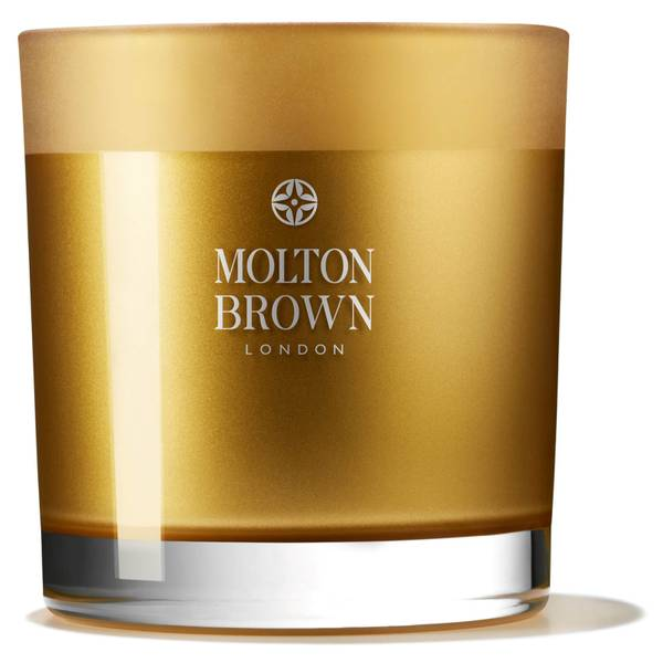 Molton Brown Oudh Accord & Gold Three Wick Candle