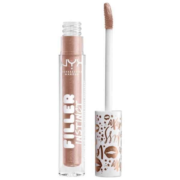 NYX Professional Makeup Filler Instinct Plumping Lip Polish 2.5ml (Various Shades)