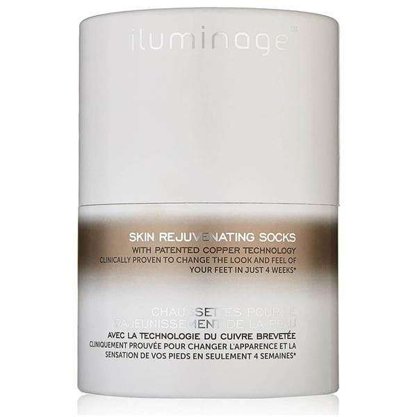 Iluminage Skin Rejuvenating Socks with Anti-Aging Copper Technology