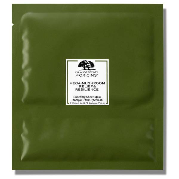 Origins Dr. Andrew Weil for Origins Exclusive Mega-Mushroom Relief & Resilience Soothing Sheet Mask (Pack of 6)