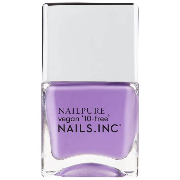 nails inc. NailPure it's Cool to be Kind Nail Varnish 14ml
