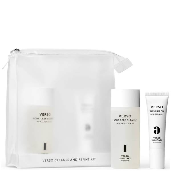 VERSO Cleanse and Refine Kit 6oz (Worth $130.00)