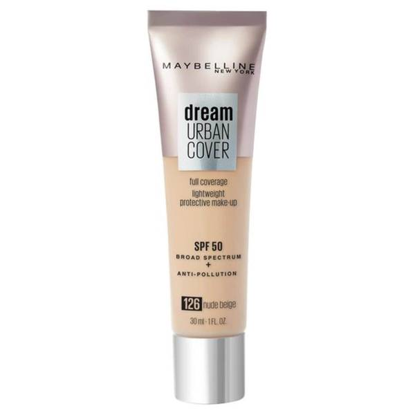 Maybelline Dream Urban Cover SPF50 Foundation 121ml (Various Shades)