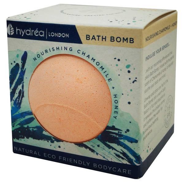 Hydrea London Nourishing Chamomile & Honey Bath Bomb 2 x 60g
