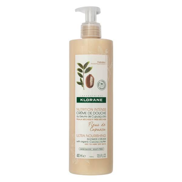 KLORANE Cupuacu Flower Shower Cream with Cupuacu Butter 13.5 fl. oz