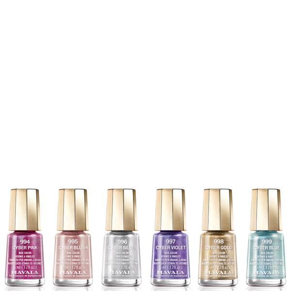 Mavala Cyber Chic Mini Colour Nail Varnish 5ml (Various Shades)