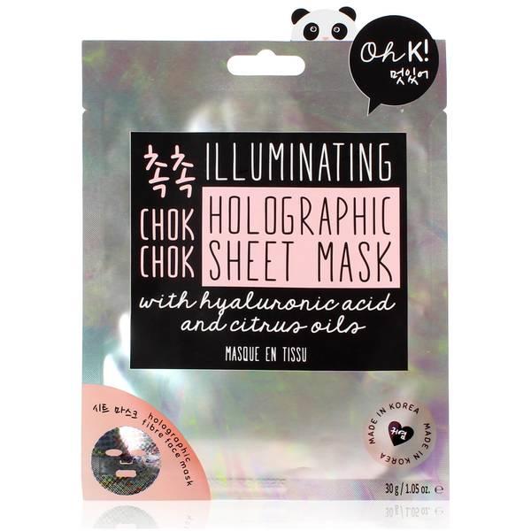 Oh K! Chok Chok Illuminating Holographic Sheet Mask 25g