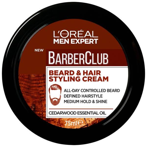 L'Oréal Paris Men Expert Barber Club Beard & Hair Styling Paste 75ml