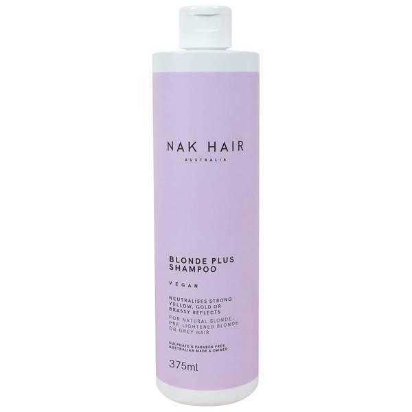 NAK Blonde Plus Vegan Shampoo 375ml