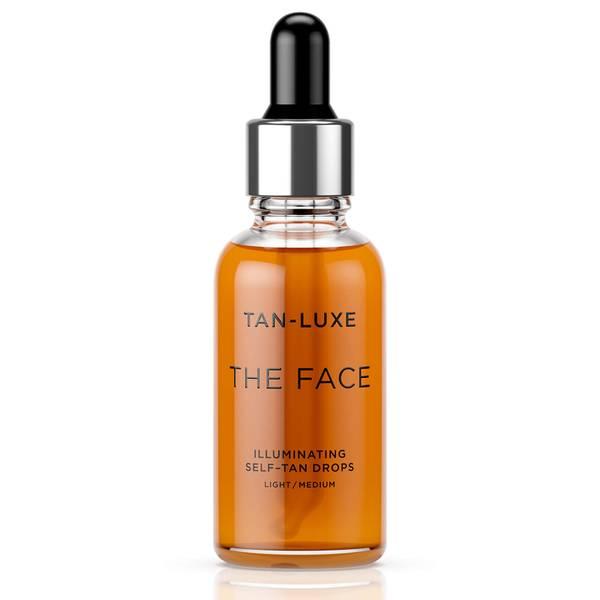 Tan-Luxe The Face Illuminating Self-Tan Drops 30ml - Light/Medium