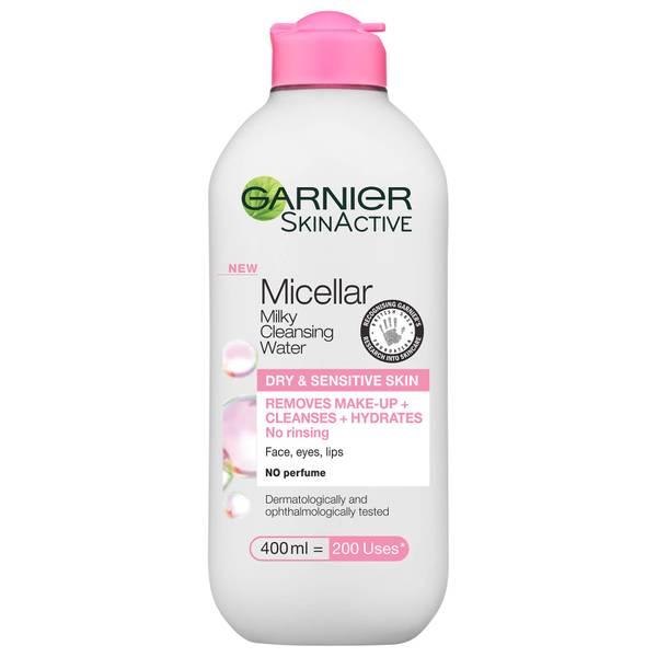 Garnier Micellar Milk Cleansing Water and Makeup Remover 400ml