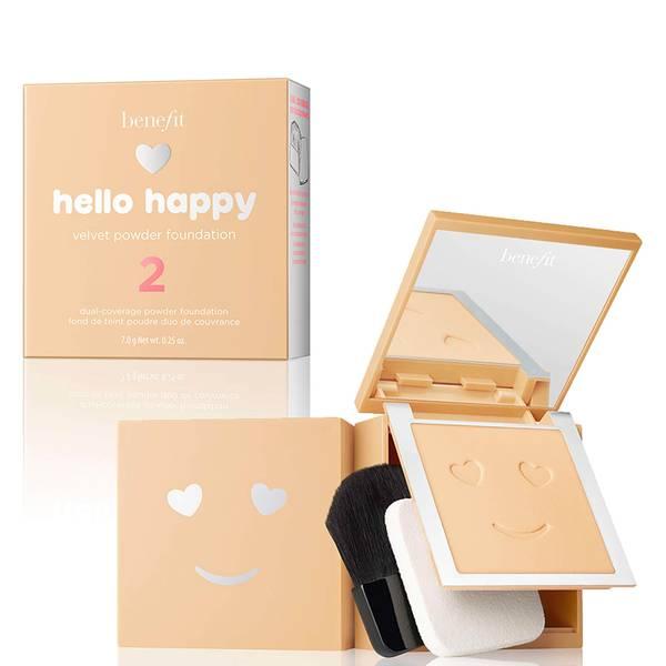 benefit Hello Happy Velvet Powder Foundation (Various Shades)